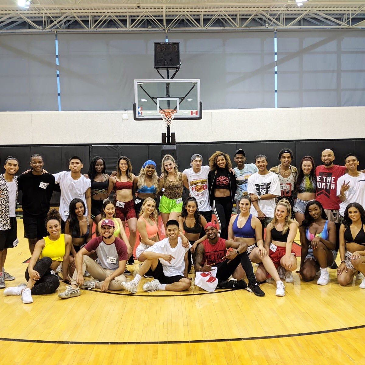 After a 9 hour audition and individual interviews, our 2019/2020 Northside Crew has been selected. Here is your official NBA dance team for the defending 2019 NBA Champions! 🏀🏆 #wethechamps #northsidecrew #nbadancers