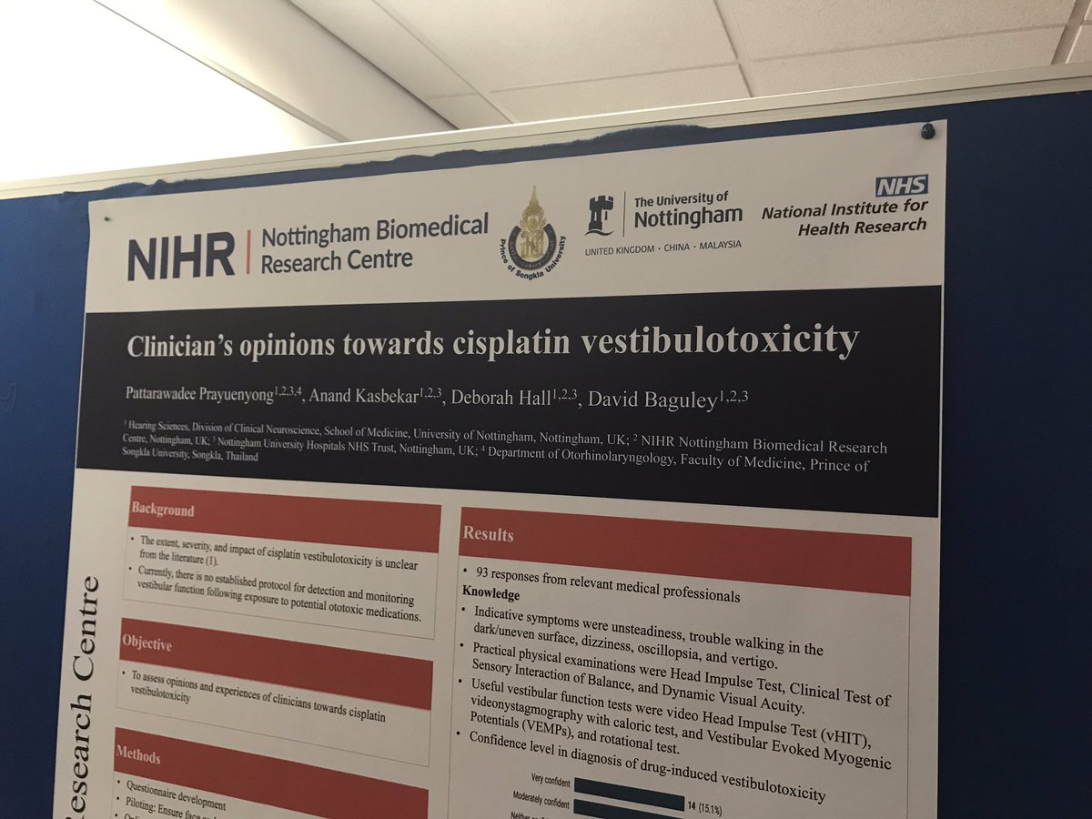 Nottingham Biomedical Research Centre, Hearing (@hearingnihr
