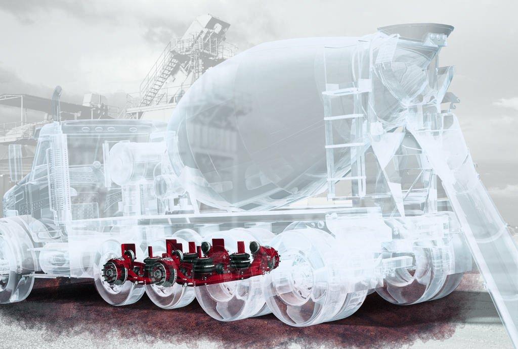 Hendrickson Steerable Lift Axle
