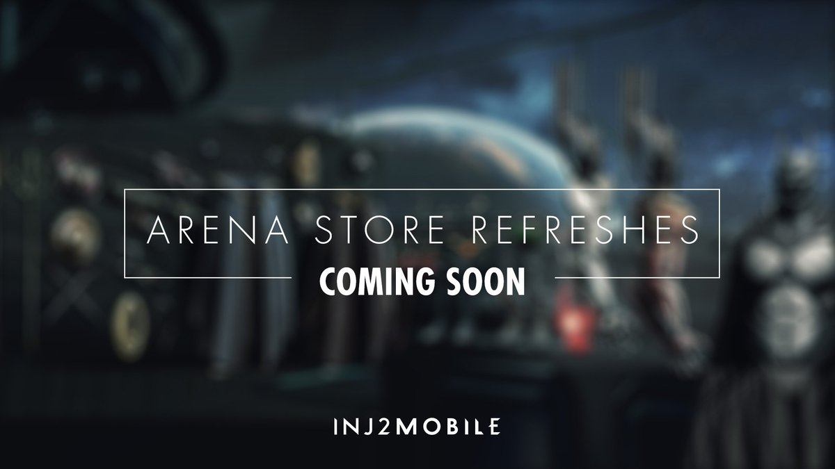 Injustice 2 Mobile On Twitter We Will Be Adding More Heroes And Changing Up The Selection In The Arena Store More Frequently Sub Zero And Multiverse Batwoman Will Be Added To The Arena
