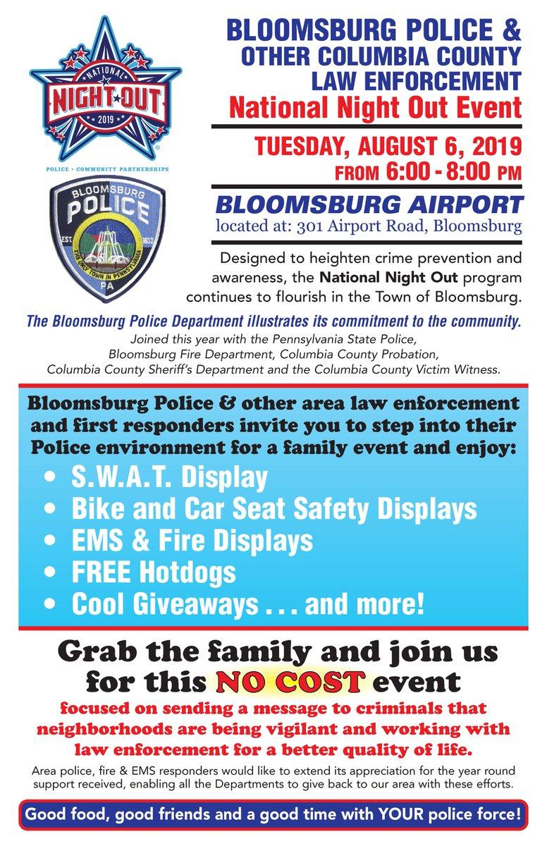 Bloomsburg Police (@BloomsburgPD)   Twitter