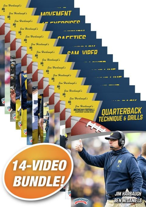 Our staff put together a 14-video coaching series covering skill and drill work for every position, plus strength & conditioning and RPO concepts. Get yours before the season begins! bit.ly/2Z4qd3W