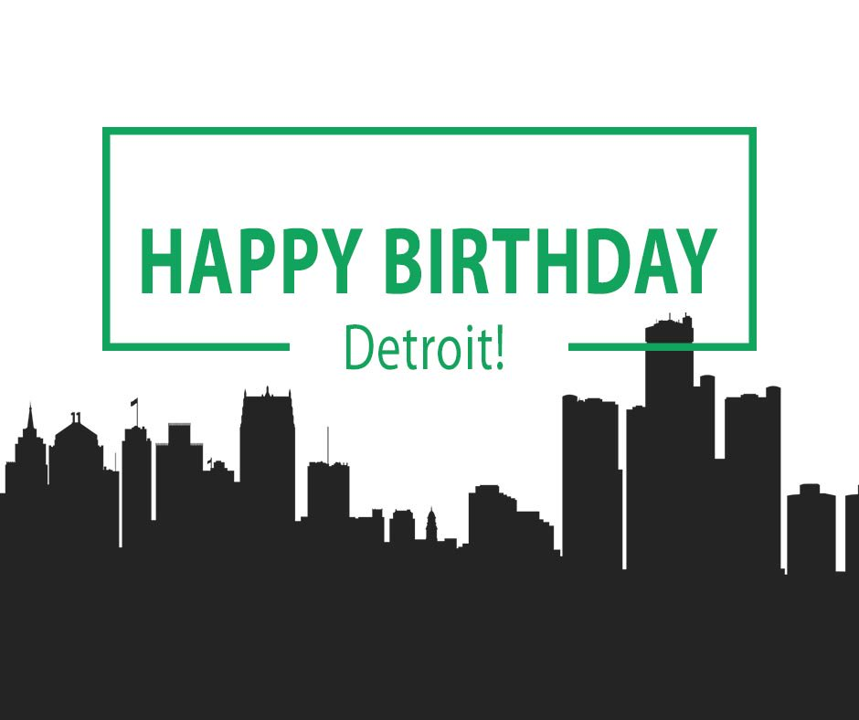 test Twitter Media - We are proud to be headquartered in Detroit. Happy 318th Birthday, Detroit! https://t.co/cmsljw59sy