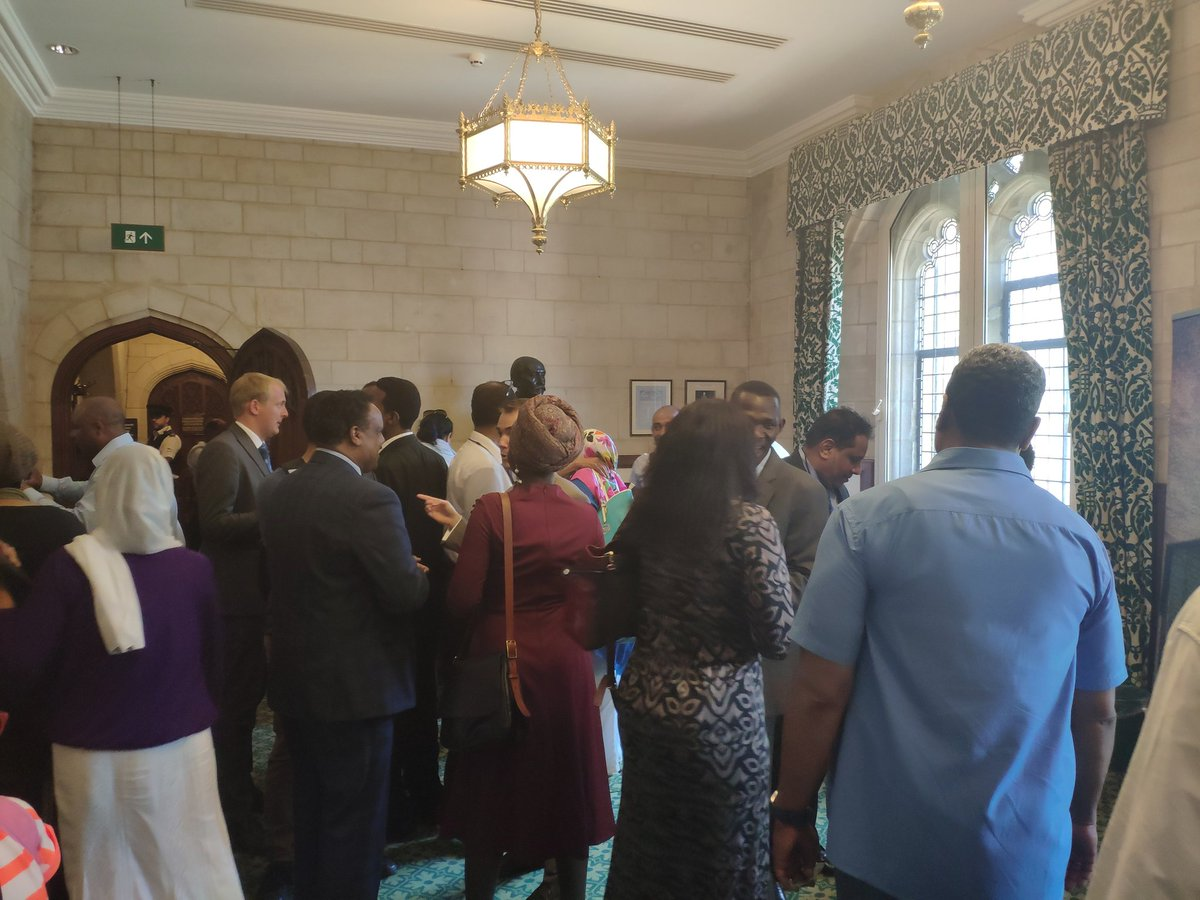 #SudanRevolutionArt hosted an event in #Parliament this afternoon showcasing the street art and slogans that have been an integral part of #SudanRevolution over the last few months<br>http://pic.twitter.com/SeVmsOJhiq