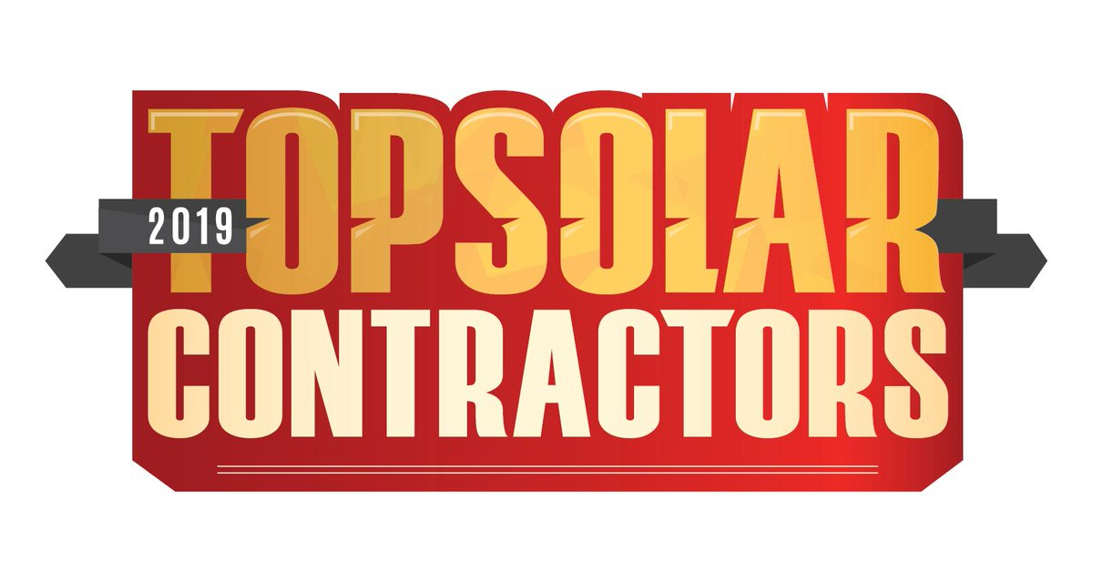 """""""We'd like to thank @SolarPowerWorld for their continued recognition of the hardworking companies on the front lines of the solar energy revolution. It's an honor to be listed among the leaders in our industry,"""" Kevin Good, President #TopSolarContractor https://www.goodenergysolutions.com/pr/Good-Energy-Solutions-2019-Top-Solar-Contractor.pdf…pic.twitter.com/CLmkb0oXtO"""