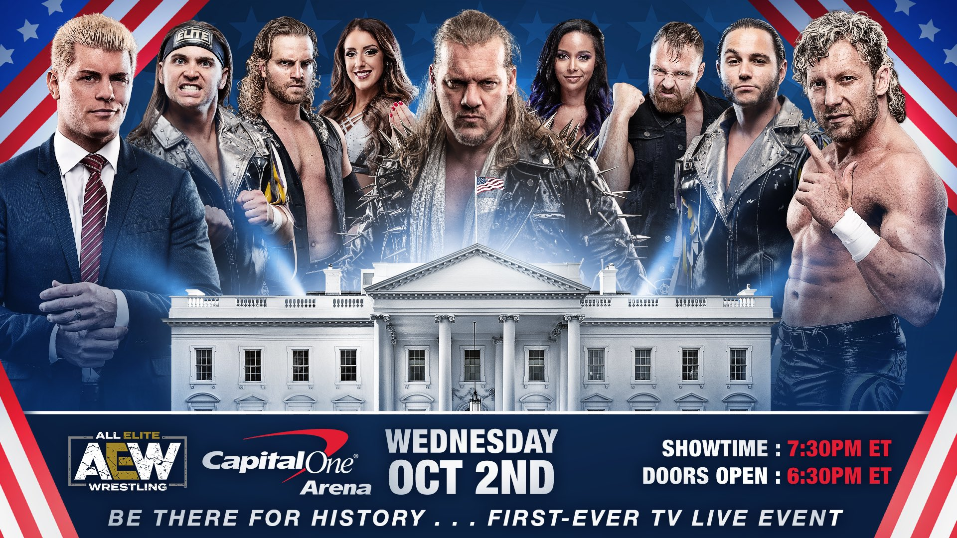 Top AEW Stars Featured On Promotional Material For First TNT TV Taping, More For The Weekly Series