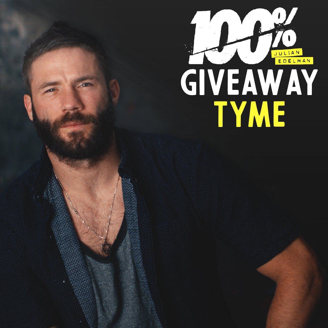 Giveaway Tyme! Post a photo of you watching 100%: Julian Edelman on @Showtime with #Edelman100 for a chance to win an autographed movie poster #Yalla
