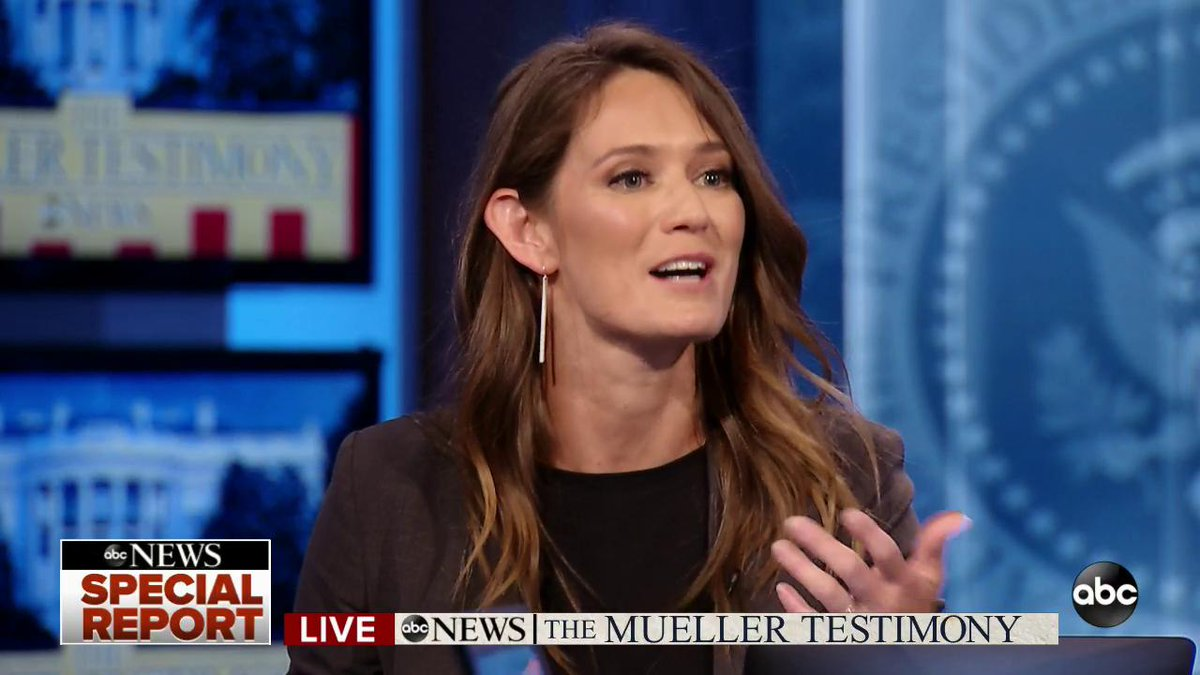 Abc News On Twitter Gstephanopoulos Impeachment Was The One Word That Robert Mueller Was Not Going To Say Today It Was Actually Republicans Who Brought Up Impeachment More Than Democrats Kate Shaw