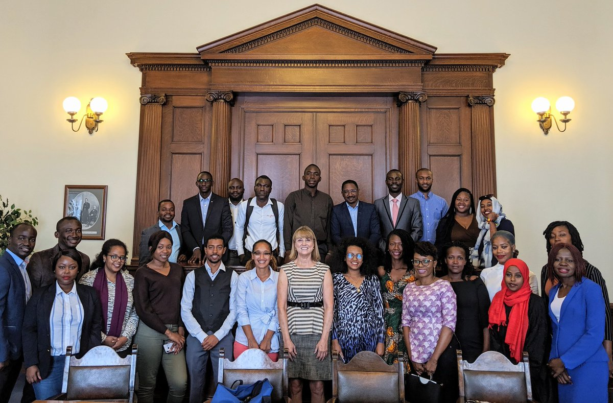 Honored to welcome #MandelaFellows to the Capitol this morning as they participate in the @WashFellowship and learn more about civic engagement and public management.