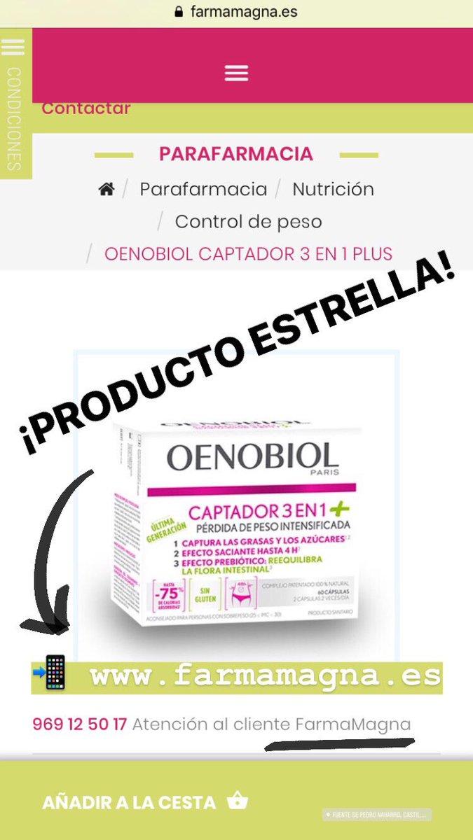 Para diarias calorias pastillas adelgazar oenobiol 400