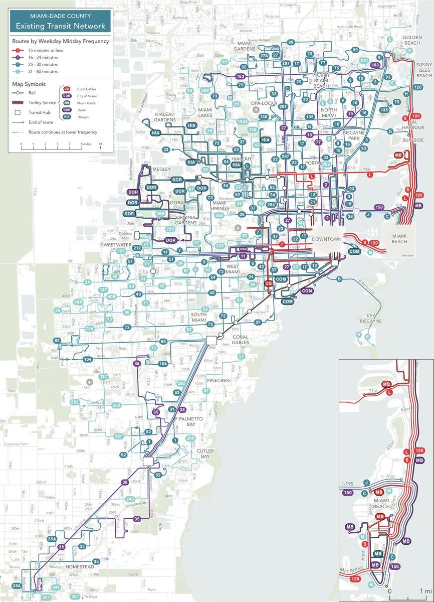 miami bus 150 map - ustrave