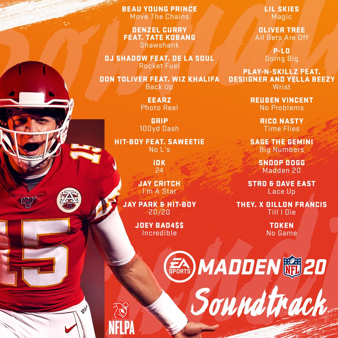 Thank you @EAMaddenNFL for having @joeyBADASS on the new soundtrack! #Incredible