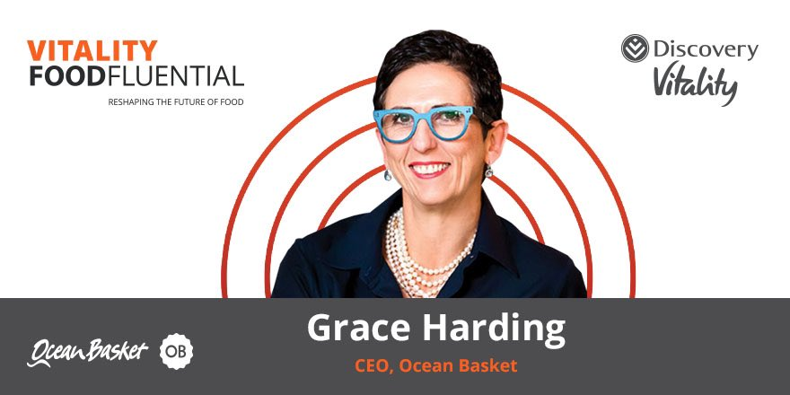 """Also part of the panel was the passionate CEO of @TheOceanBasket Grace. She said: """"The trend that never changes is that people want to eat together and healthy is such a broad term, but one thing is for sure, we do it for our kids"""". https://t.co/VKhohglgGN"""