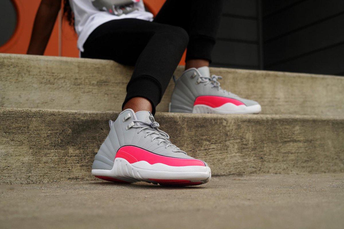 jordan 12 wolf grey racer pink Shop