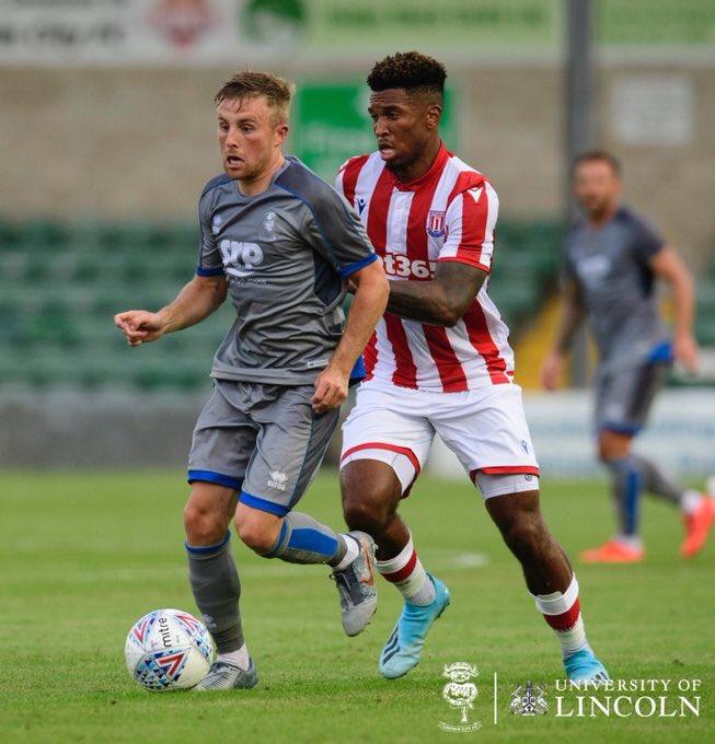 Lincoln City v Stoke City Live Match Commentary on July 24