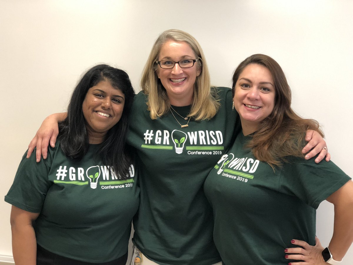 I had some awesome Co-presenters at #GrowRISD2019! Thanks @ednarodriguez and @JVarghese87!