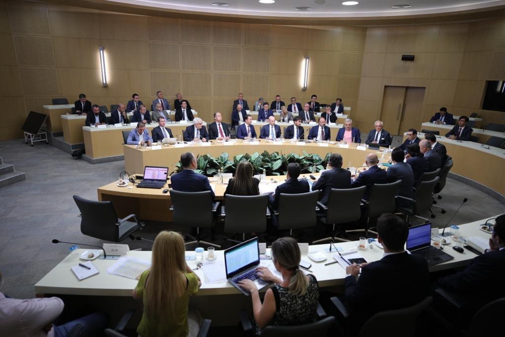 2019 Doğal Gaz Genişleme Yatırım Gerçekleşmesi ve 2020-2022 Yılları Doğal Gaz Genişleme Yatırım Planlaması Toplantısı