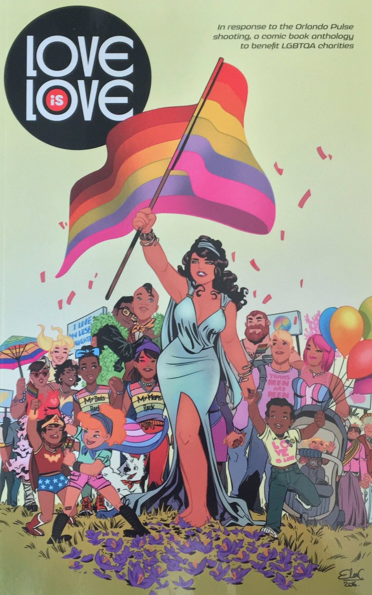 Ok comic educators and true believers...tomorrow is the big day! Going to discuss teaching civics with graphic texts on the last day of the #CivicsForAll Summer Institute for NYC Ts. To start the discussion, how might you use March and Love is Love to teach #ComicsandCivics?