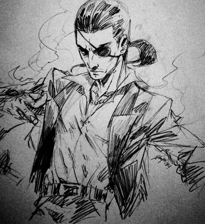 Concept Art Yakuza 0
