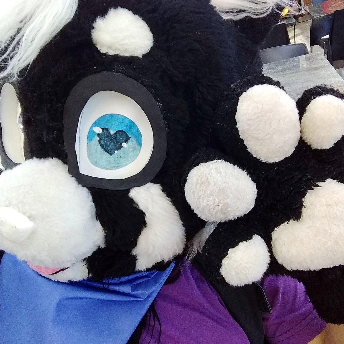 """Fursuit Panda daieny schuttz on twitter: """"ooi! #henshoku #furry #fursuit"""