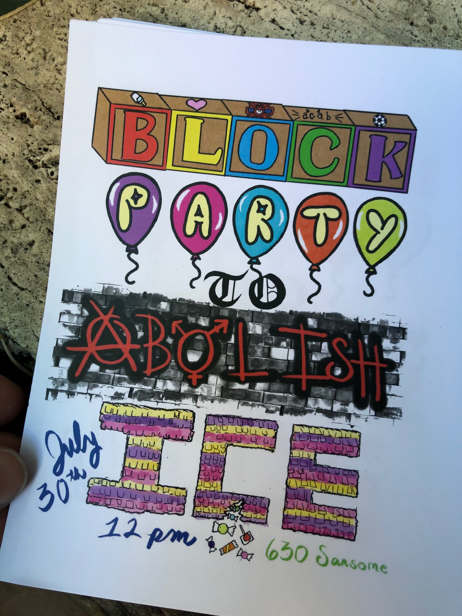 Block Party to Abolish ICE