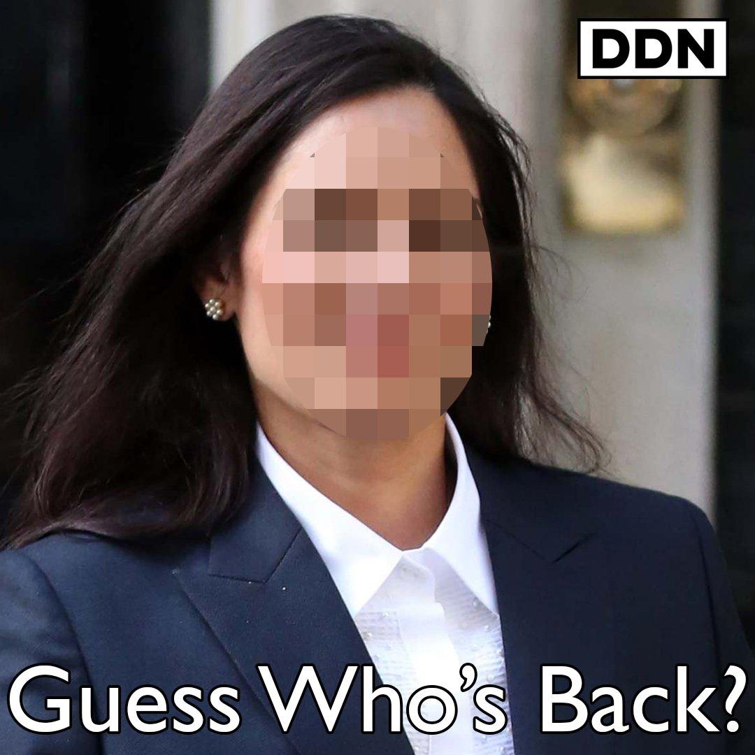 Did someone say Priti Patel?