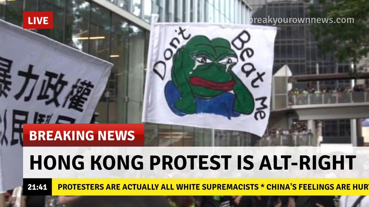 pepe the frog hong kong