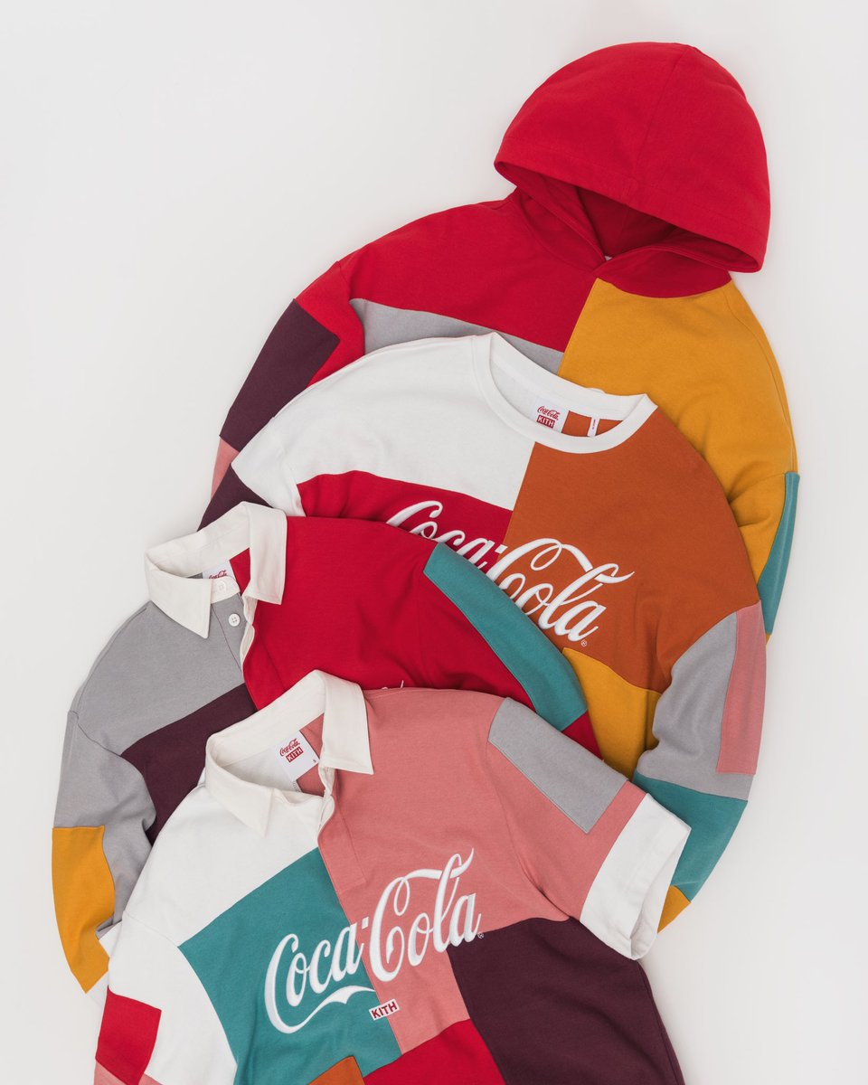 3b5f85ea The Kith x Coca Cola 2019 collection is coming soon.pic.twitter .com/5MGPO1STne