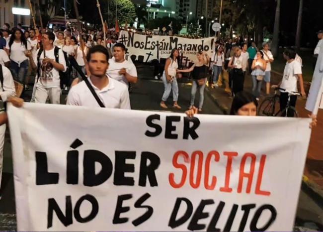 """Iván Cepeda Castro on Twitter: """"Así es: """"Ser líder social no es delito"""". 26 de julio, movilización.… """""""