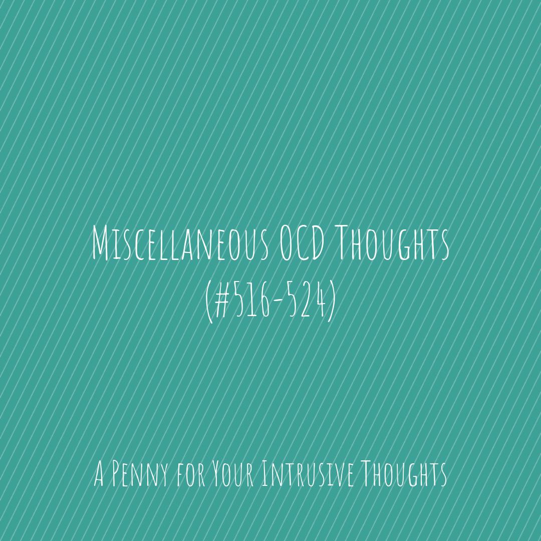 A Penny for Your Intrusive Thoughts (@OCDthoughtsanon) | Twitter