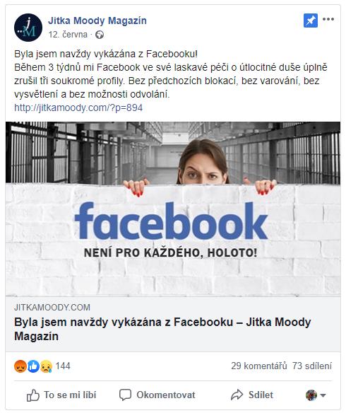 falešné profily online