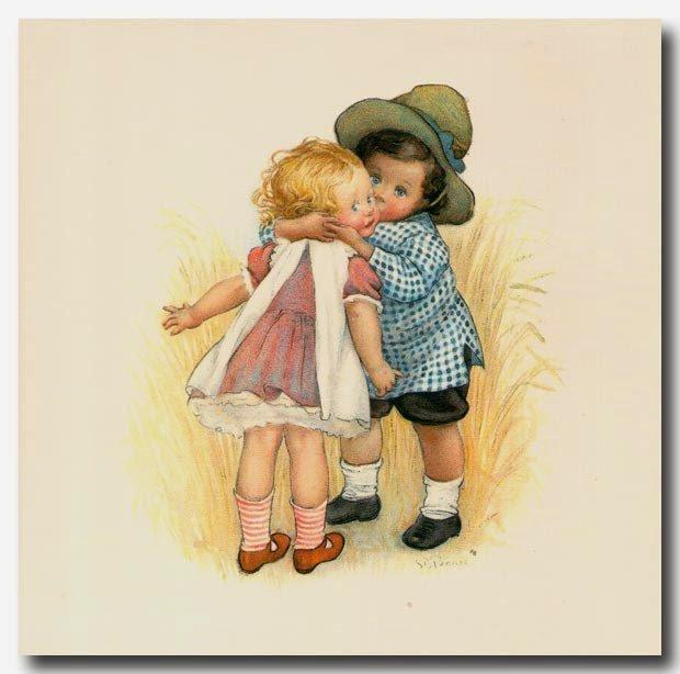 Картинки открытки мальчики и девочки, красиво оформить рамку