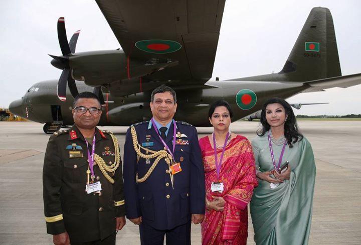 بنغلاديش ستتلقى من المملكة المتحدة خمس طائرات نقل عسكرية من طراز C-130J EATTCYdXoAAjQ2w