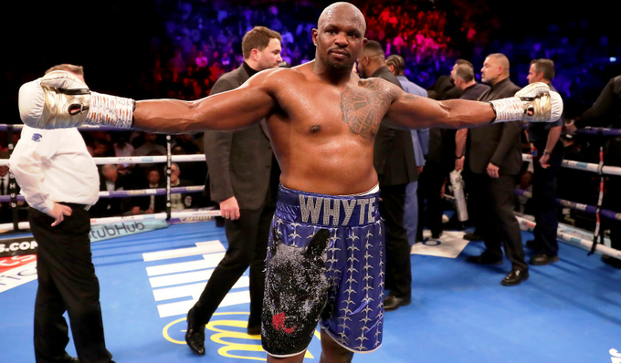 REPORTS: Dillian Whyte tested positive for a banned substance prior to his win over Oscar Rivas.  Eddie Hearn insisted both fighters were cleared to box. https://t.co/AFzt6ya9IF