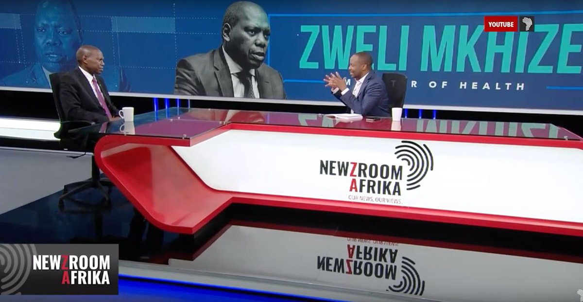 MUST WATCH!  .@JJTabane in #FrankTalk with Minister of Health Zweli Mkhize on the state of health facilities, NHI and his vision to sort out the health system #YourViewOn405   Part 1: https://bit.ly/30Z4udZ  Part 2:  https://bit.ly/2ycihBD  Part 3:  https://bit.ly/2Y203Cl
