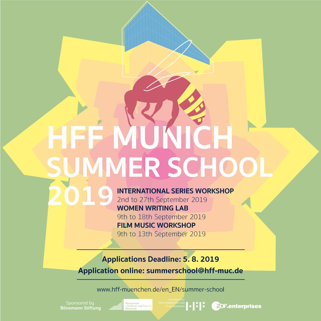 No plans for September yet? Now you do! @HFF_Muenchen  SUMMER SCHOOL - applications until August 5! #summerschool #workshop #hffmuenchen pic.twitter.com/3ybRermbgM