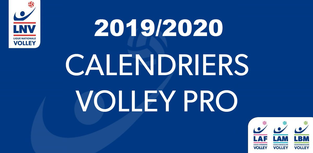 Le calendrier complet de la #LAM @LNVofficiel 2019-20 https://t.co/W5trT1ASbV...
