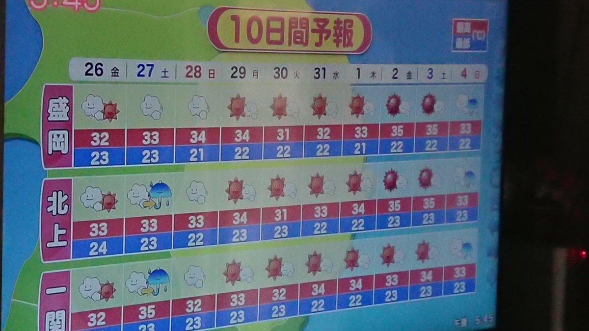 天気 予報 東京 10 日間