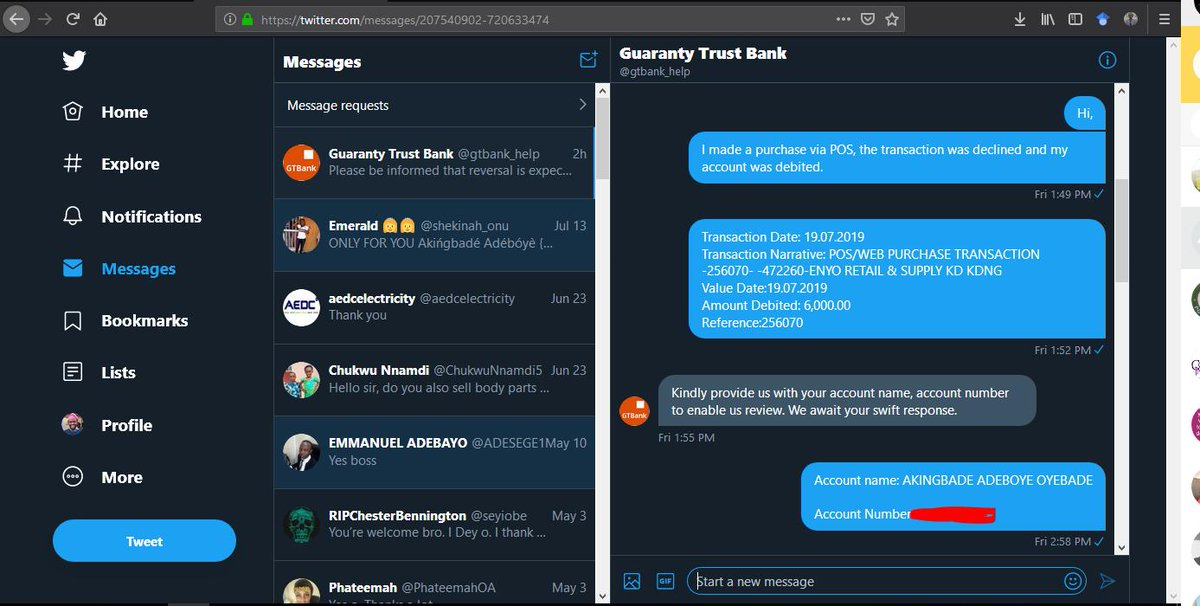 GTBank's tagged Tweets and Download Twitter MP4 Videos | Twitur