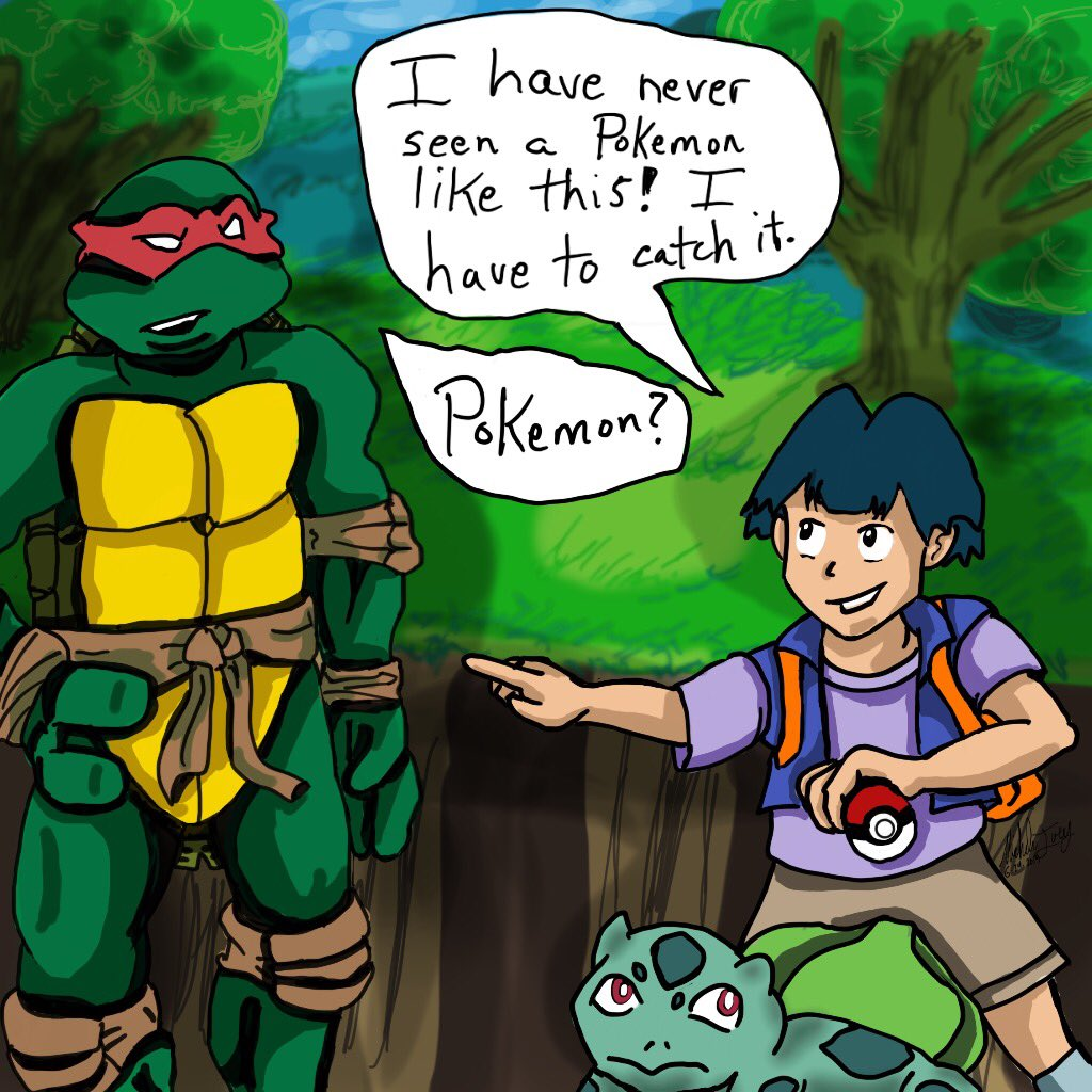 Cowabunga Corner On Twitter Here Is Raphael With Gilbert From