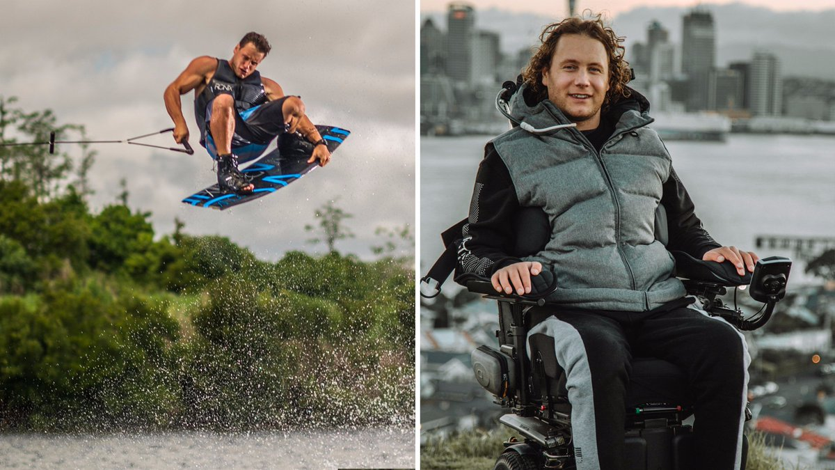 Was an honour having former Wakeboard champion @bradsmeele on Don't Tell Me The Score, talking about the power of acceptance. Brad broke his neck in 2014 performing a trick, his journey to acceptance is powerful and the lessons universal #DTMTSLISTEN: https://www.bbc.co.uk/programmes/p07hp9bx …