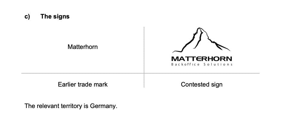 """test Twitter Media - #EUIPO Opposition No B3037457 the """"German"""" #Matterhorn case the signs  """"Visually are similar to an above average degree"""" """"Aurally at least highly similar if not identical"""" """"Conceptually similar to a high degree"""" """"there is a likelihood of confusion on the part of the public"""" https://t.co/EsGLL2VkxD"""