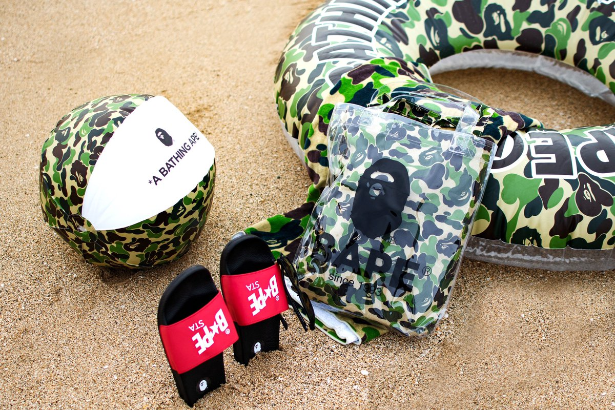 e5d5c6dd904 ABC BEACH COLLECTION available on Saturday, July 27th. #bape  pic.twitter.com/jnidSR2lzC