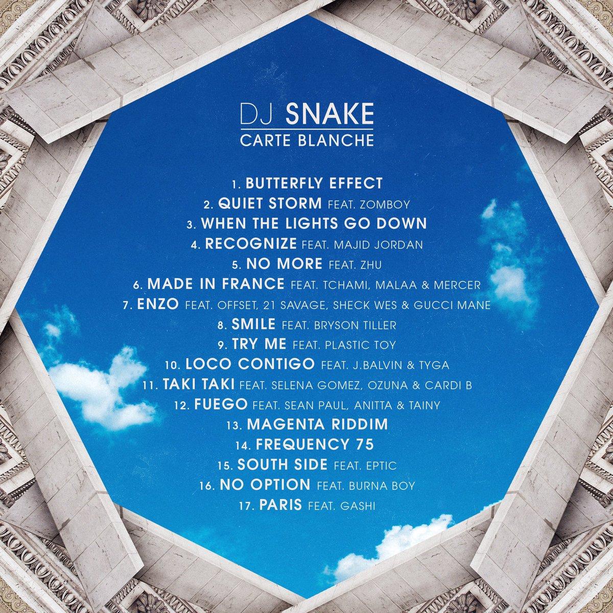 dj snake carte blanche DJ SNAKE on Twitter: