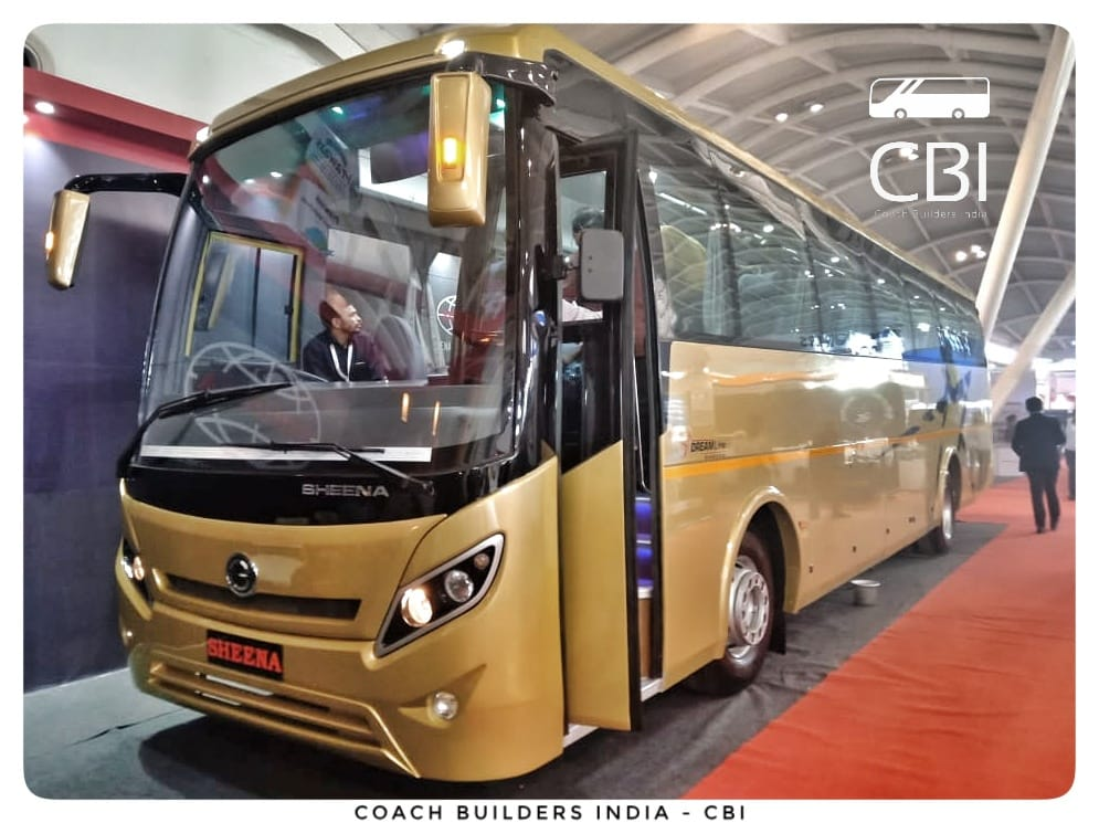 Coach Builders India Cbi On Twitter Sheena Buses And Coaches New Delhi Exhibit In Prawaas2019 The 2x1 Seater Coach Has Been Built On Bharatbenz1 S 1623 Chassis Coachbuildersindia Busbodybuilders Busindustry