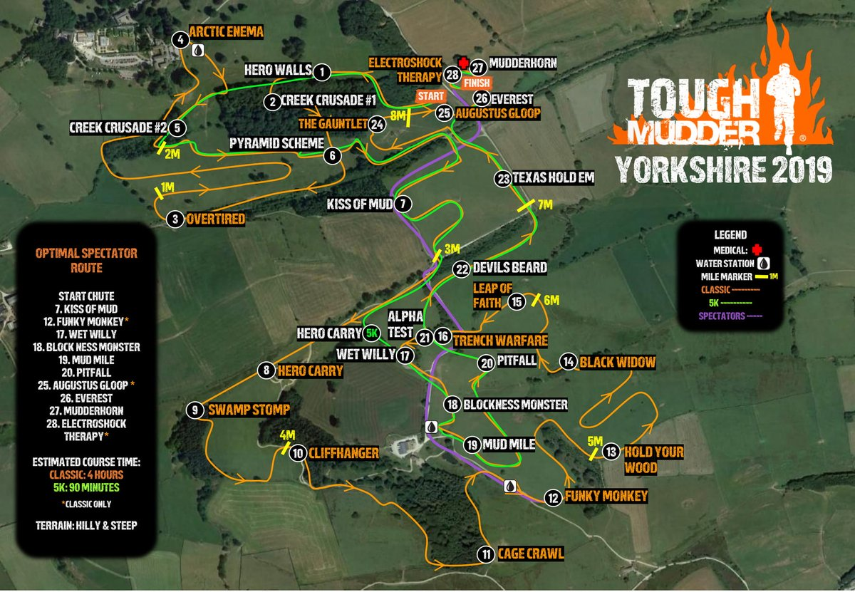 Take a look Yorkshire Mudders, this is your course. #ToughMudder