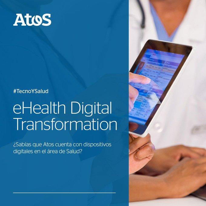 ☝️¿Sabías que Atos cuenta con dispositivos digitales🤳 en el área de salud?...