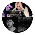 Image for the Tweet beginning: Intensivo: Acting in English, con