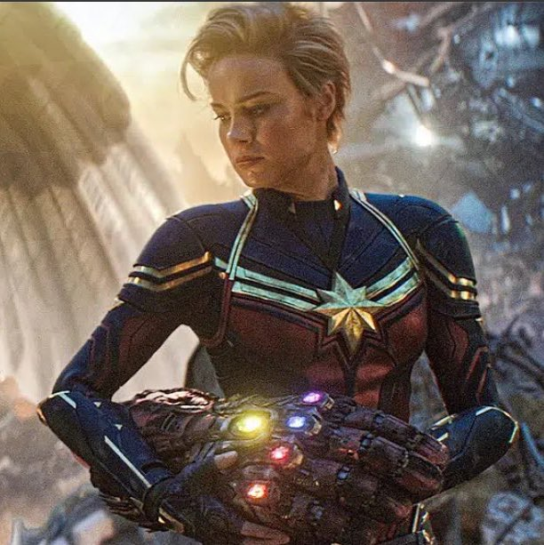 Ghost Host On Twitter Everytime I See Captain Marvel With Short Hair I Get A Tiny Bit Gayer