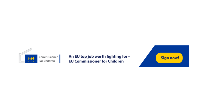 57f28185054 With the opportunity of a new European Commission, we seek a European  Commissioner for #Children in the next mandate of the European Commission  2019-2024 ...